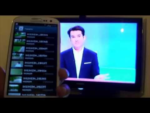 Samsung Galaxy S3: Streaming Full HD 1080p Video from Android (ICS) Ice Cream Sandwich