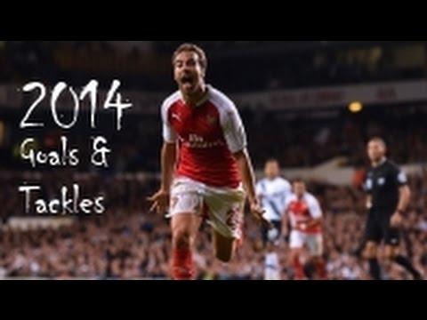 Mathieu Flamini HD - Goals & Tackles 2014