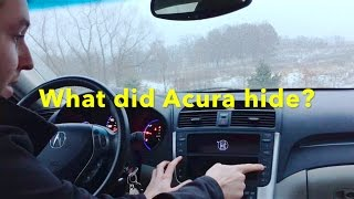 10 More Things you didn't know about the 2004-2008 Acura TL - Secret Menus!