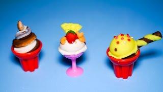 Làm 3 ly kem đủ loại, đủ màu từ máy làm kem băng đát sét Play Doh