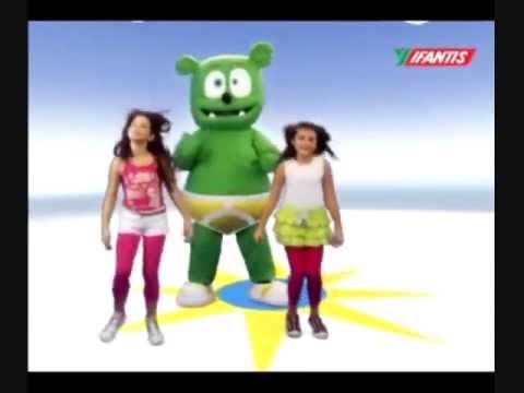 Nhạc vui cho bé - Bé tập nhảy cùng Gấu Gummy -  Gummy Bear