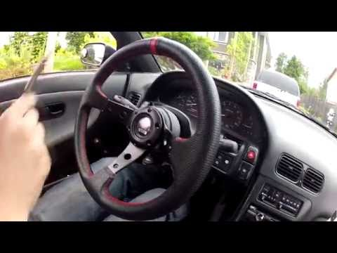 Nissan 240sx s13 How to install new steering wheel.