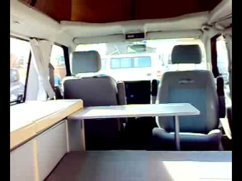 Panoramica su VW Westfalia California