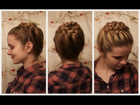 Hair style girl step by step youtube