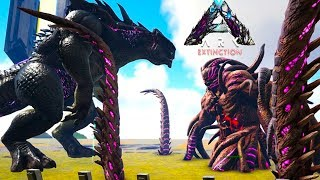 Ark Extinction - KING KAIJU vs ALL WARDENS + Rockwell! - Ark Extinction Gameplay