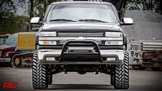 Installing 1999-2006 GM 1500 6-inch Suspension Lift Kit by Rough Country