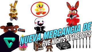 Nuevos Juguetes De Five Nights at Freddy