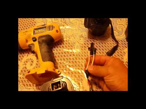 Converting my Dewalt 12v drill battery to Lipo