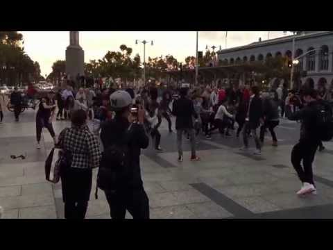 B1A4 KPOP Flash Mob - San Francisco Ferry Building