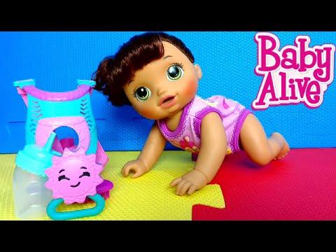 BABY ALIVE - NOVA BONECA HORA DO PASSEIO! Peter Toys