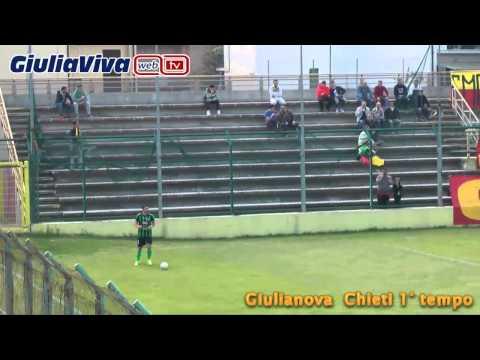 Giulianova Chieti 1° tempo