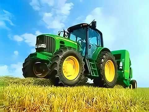 Jason Aldean - Big Green Tractor [lyrics] video