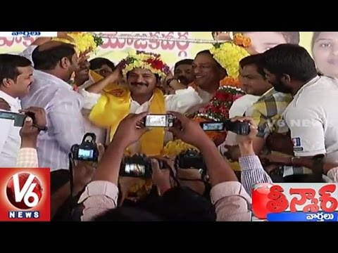 Revanth Reddy Over Formation Of New Party In Telangana   Teenmaar News   V6 News