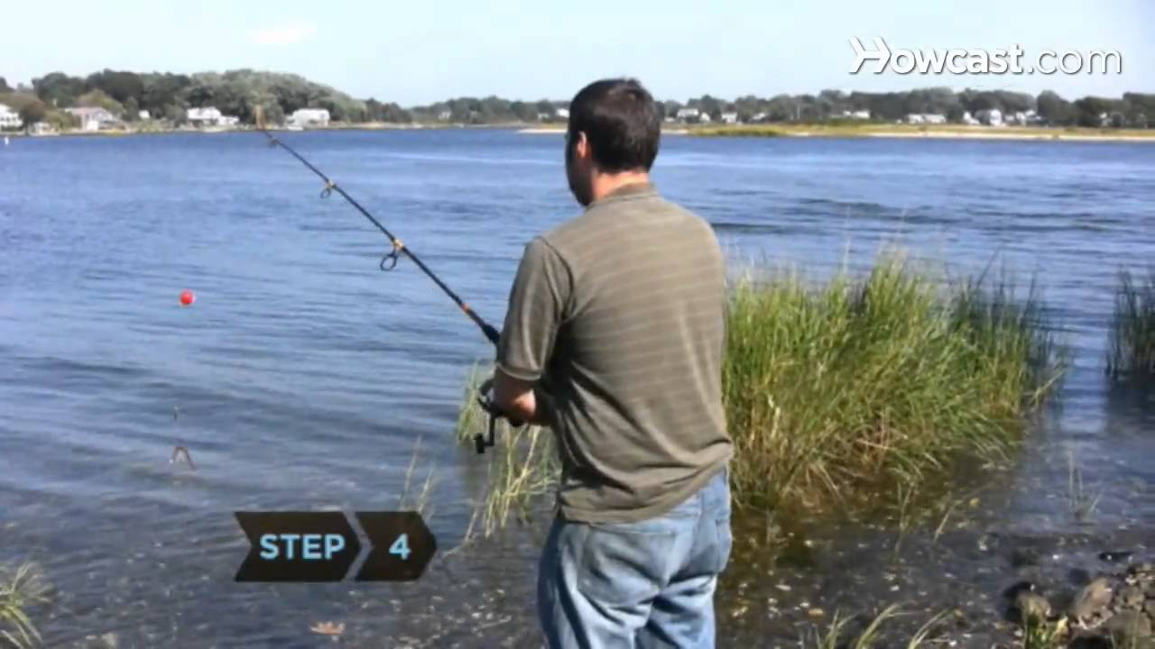 how to cast a fishing rod youtube