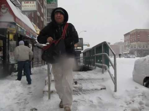 2010: February 26, Winter Storm Hits New York City