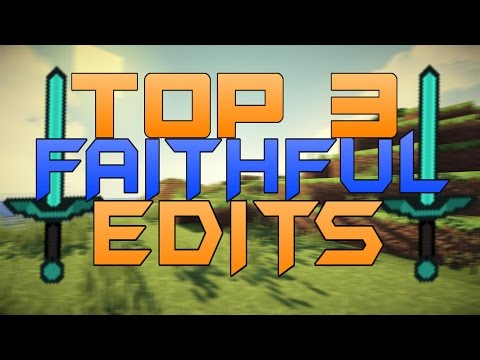 TOP 3 Minecraft PvP Texturepacks Faithful Edits - FOR 1.7.X 1.8.X 1.9.X (ResourcePacks)   Review