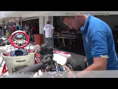 Karting and Dragz at Bushy Park Barbados  (RACE 1TV)