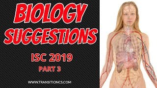 ISC 2019 Biology Class 12 Suggestions Part 3 II ISC Biology Class 12 Suggestions II ISC Biology