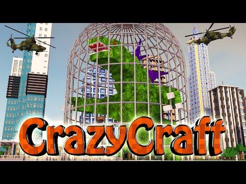 Minecraft | Crazy Craft 2.0 - OreSpawn Modded Survival Ep 189 -