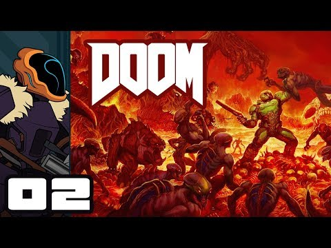 Let's Play Doom [2016] - PC Gameplay Part 2 - Must... Find... Every... Secret...