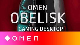 Sleek. Powerful. And easy to upgrade   The new OMEN Obelisk gaming desktop