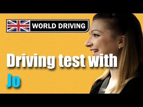 Jo's full UK driving test - Driving test tips