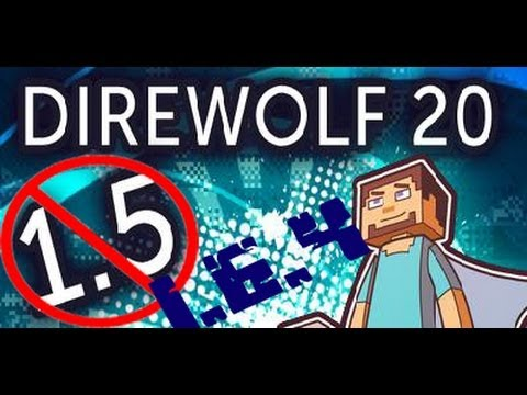 1.6.4 Direwolf20 FTB Server Let's Play Server IP in description Episode 1 Exploring