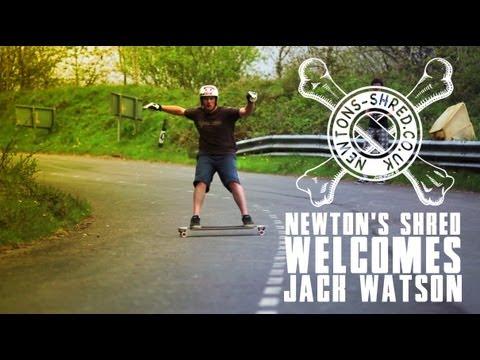 Newton's Shred Welcomes Jack Watson