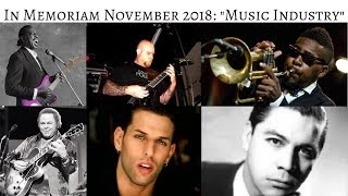 In Memoriam November 2018: Stars we lost in Music Industry #InMemoriam #CelebrityNews