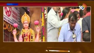 7th Day Khairatabad Vinayaka Live | Khairatabad Ganesh Specialization