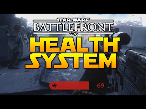 Star Wars Battlefront: How The Health System Works [Infantry, Vehicle & Heroes]