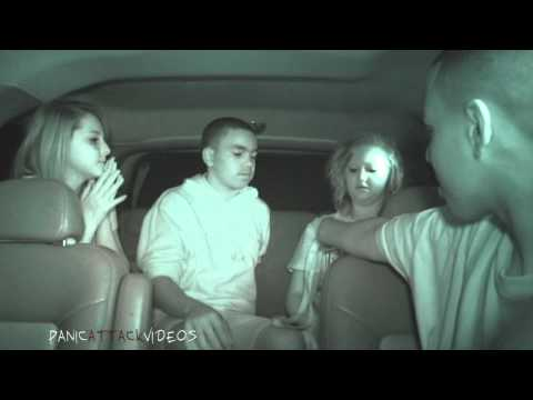 Teens React to scary cemetery at night in car!!!!