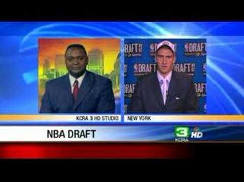 Sacramento Kings Draft Spencer Hawes