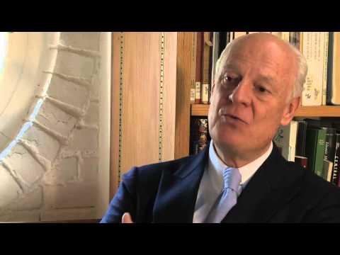UN in Afghanistan: Staffan de Mistura on the role of UNAMA