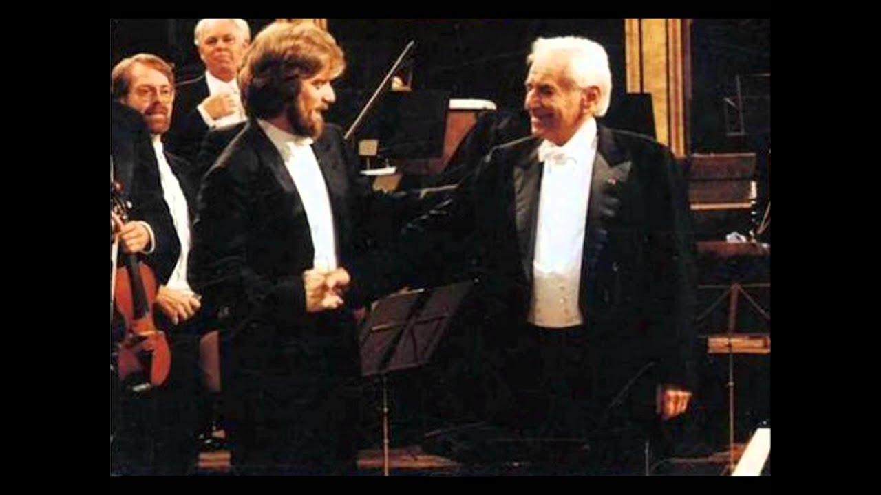 Leonard Bernstein - Wolfgang Amadeus Mozart Mozart Klavierkonzert Nr. 15 B-Dur KV 450 - Linzer Symphonie KV 425