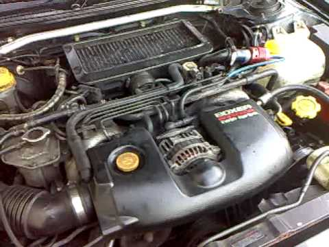 Subaru Legacy GT twin turbo 1995 with buggered MAF 2