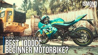 Best 1000 cc beginner motorbike? SUZUKI GSXR1000R Motorcycle Review
