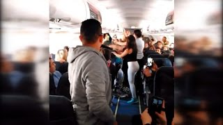 Massive Brawl Happens on Plane After Woman Refused to Turn Music Down