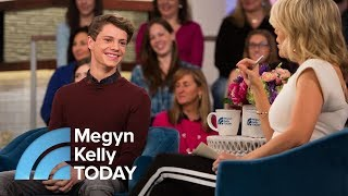 'Henry Danger' Star Jace Norman Speaks Out On Bullying And Dyslexia   Megyn Kelly TODAY