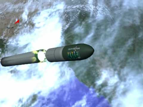 Анимация пуска РС-20. RS-20 Launch Animation.
