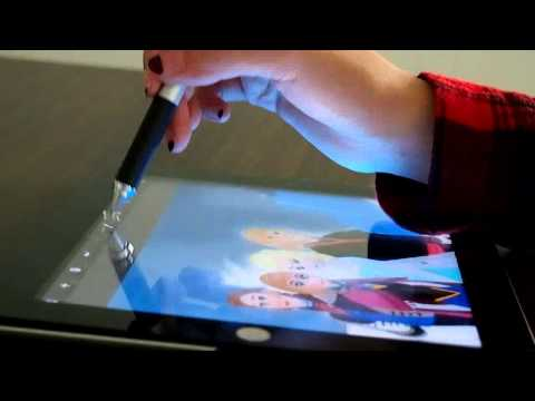 DAGi 2 in 1 stylus LA701 Laser pointer and stylus demo