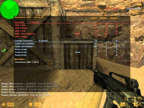 f0rest vs. mibr @GameGune 2007