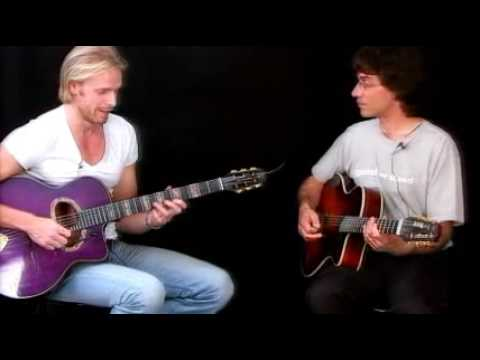 Jazz Guitar Lessons - Gypsy Duets - Andreas Oberg&Frank Vignola - Limehouse Blues Trading 4's