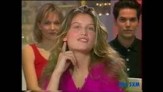 LAETITIA CASTA at 20 years old ....rare interview in 1999.