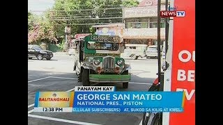 BT: Panayam kay George San Mateo, National Pres., Piston