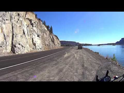 Cascade loop, WA - Part 4 - Coulee dam to Grand Coulee city