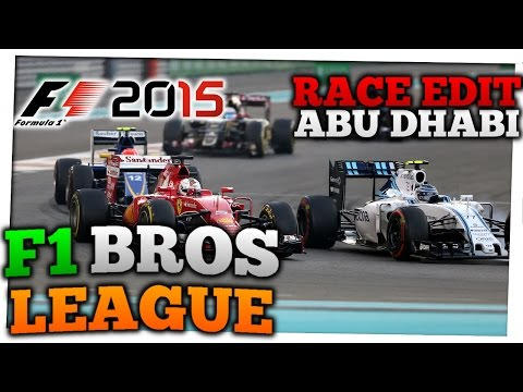 RACE EDIT ABU DHABI - S3 #14   F1 Bros League   AlonsoFan98
