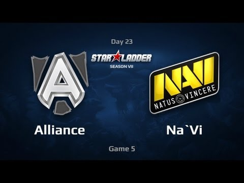 Na`Vi vs Alliance, SLTV Star Series S VII Day 23