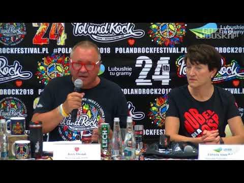Pol'and'Rock 2018. Konferencja Prasowa Podsumowująca Przygotowania Do 24. Pol'and
