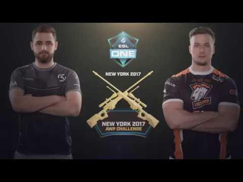 ESL One NY 2017 AWP Challenge Round 2 - FalleN vs. PASHA